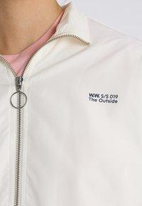 Wood Wood - TEKLA JACKET - Summer jacket - off white - 4
