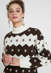 Wood Wood - SONIA - Jumper - off white/jacquard