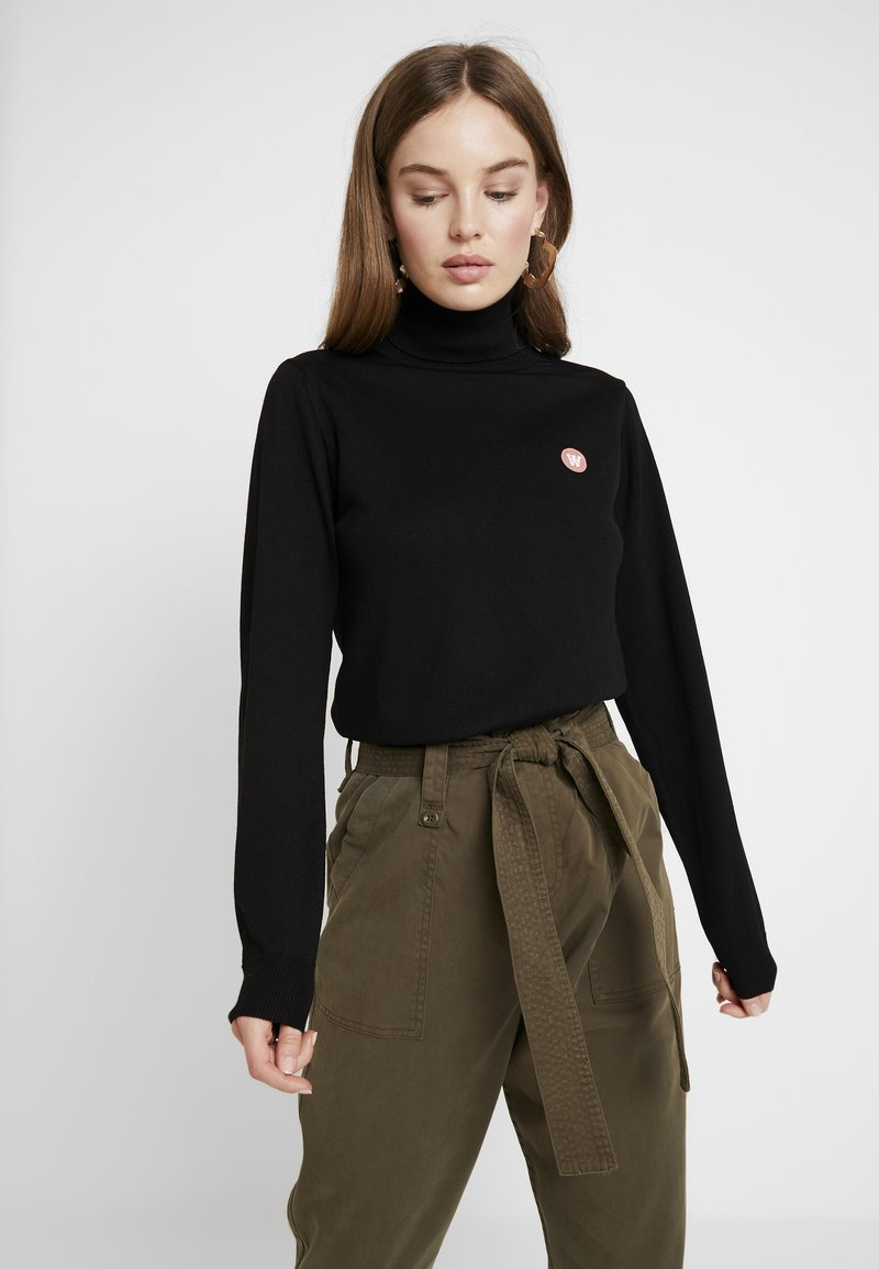 Wood Wood - BEA TURTLENECK - Jumper - black