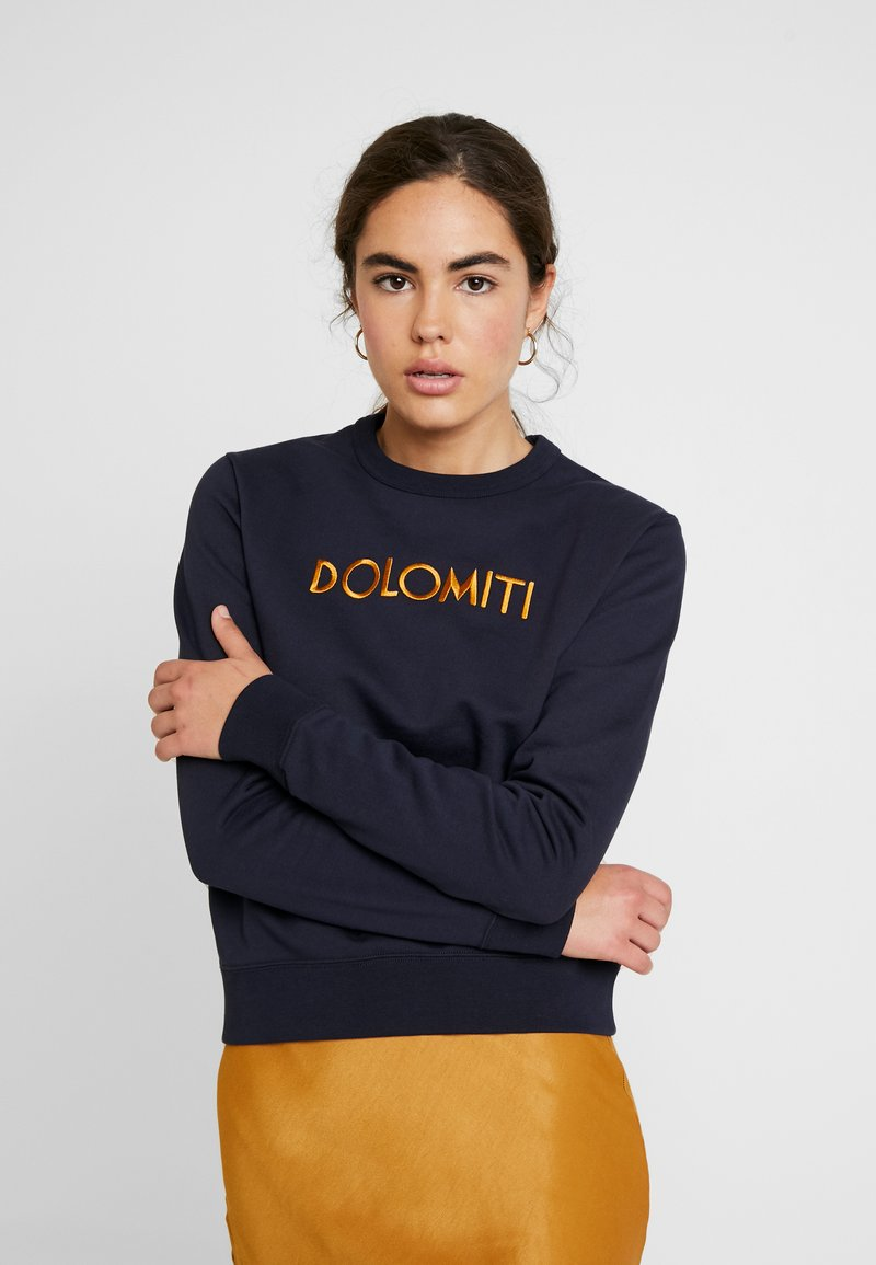 Wood Wood - Sweatshirt - navy