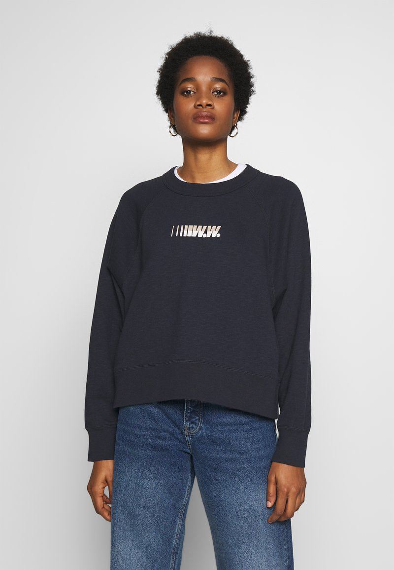 Wood Wood - HOPE - Sweatshirt - navy