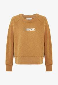 Wood Wood - HOPE - Sweatshirt - dark khaki - 3