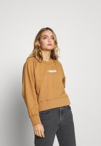 Wood Wood - HOPE - Sweatshirt - dark khaki - 0