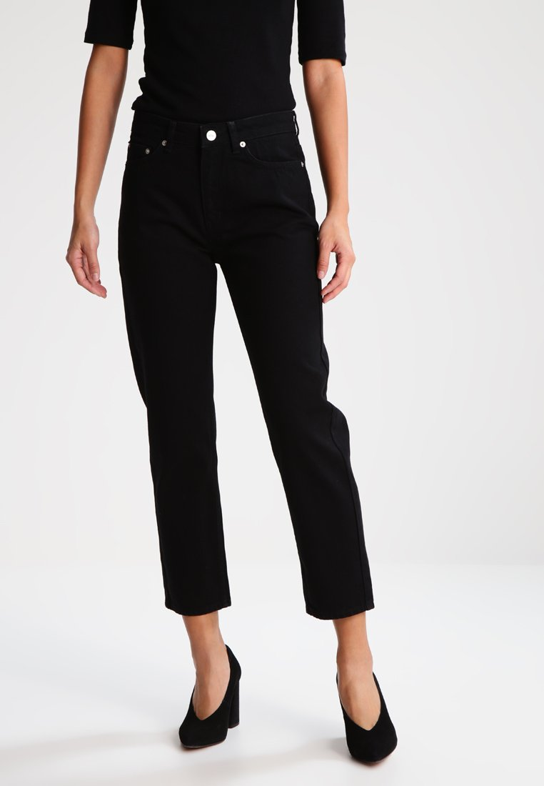 Wood Wood - EVE - Straight leg jeans - black