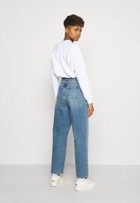 Wood Wood - ILO - Straight leg jeans - blue denim - 2