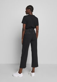 Wood Wood - ALTHEA TROUSERS - Trousers - black - 2