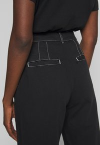 Wood Wood - ALTHEA TROUSERS - Trousers - black - 3