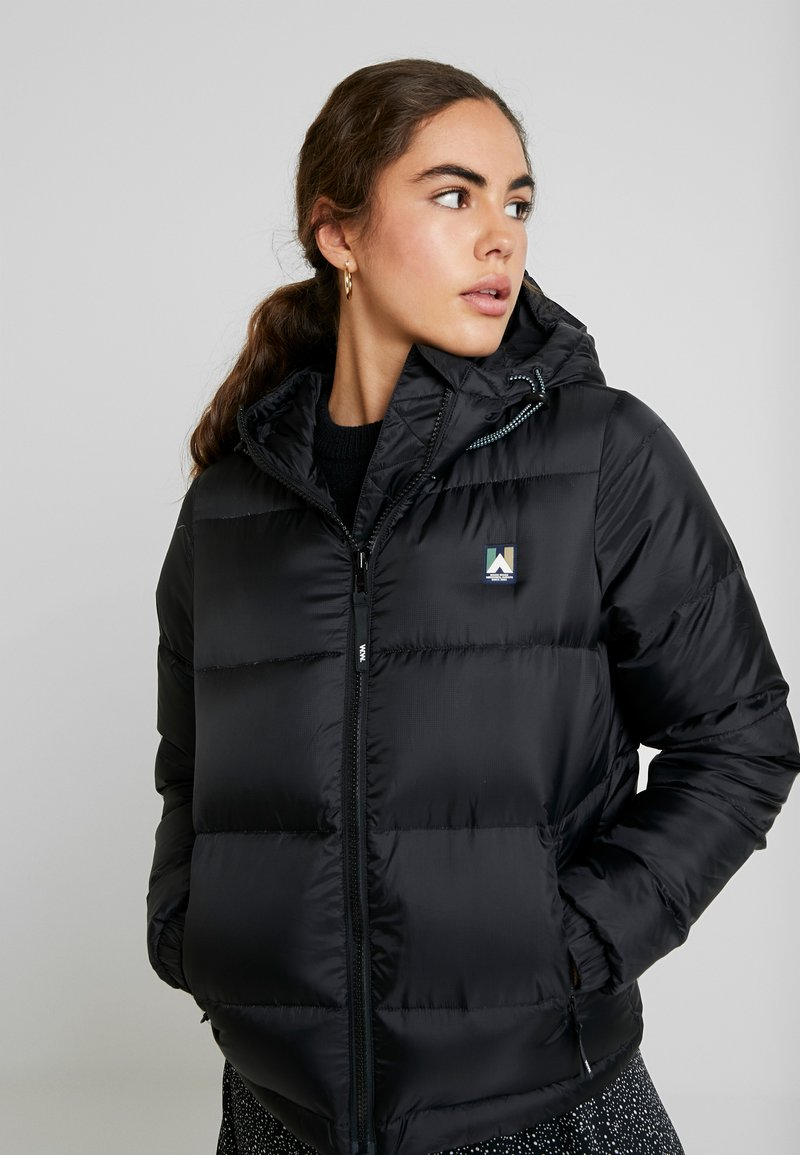 Wood Wood - ELSA JACKET - Down jacket - black