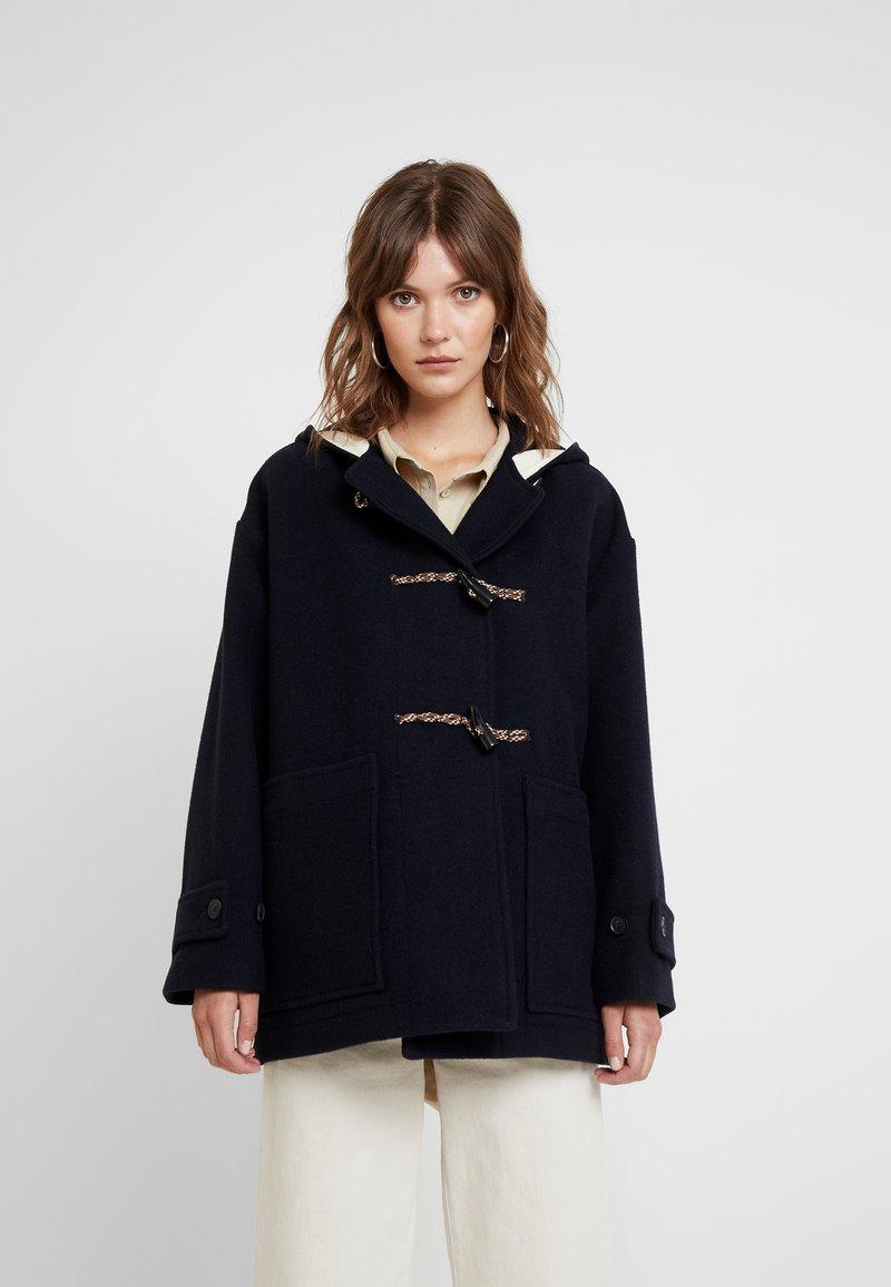 Wood Wood - VRENI COAT - Zimní kabát - navy