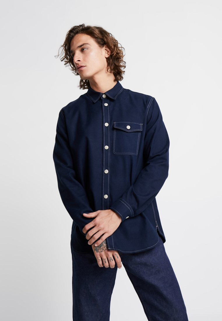 Wood Wood - ASKE - Shirt - navy