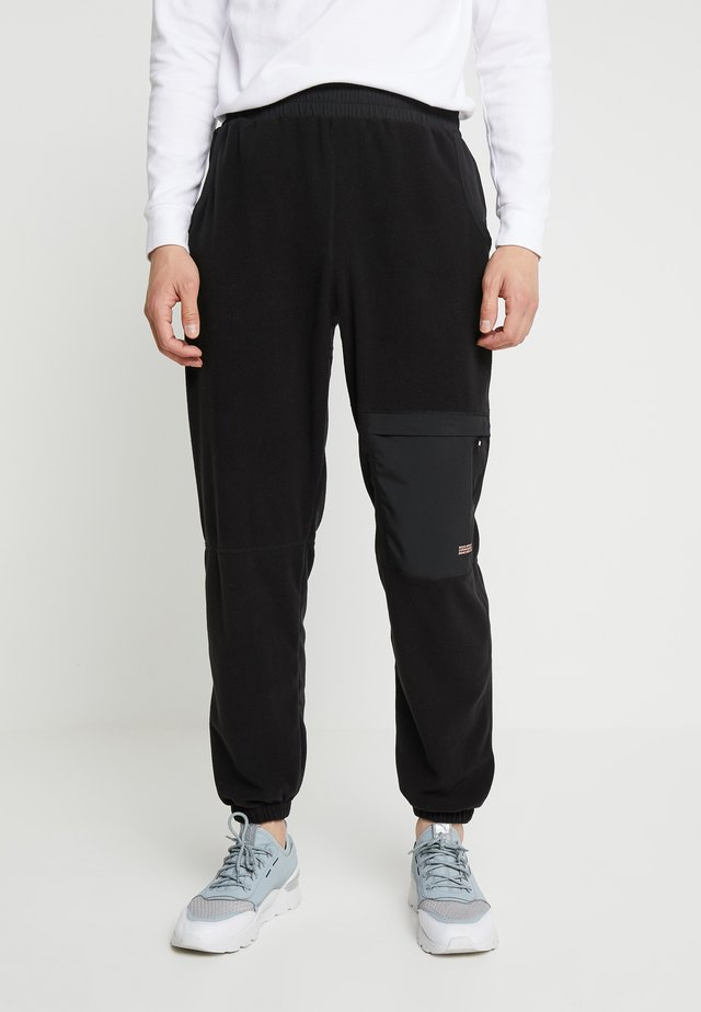 SIGURD TROUSERS - Tracksuit bottoms - black