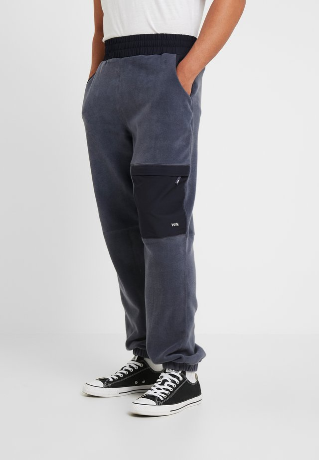 SIGURD - Tracksuit bottoms - steel blue