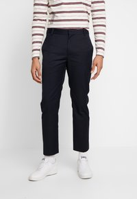 Wood Wood - TRISTAN TROUSERS - Trousers - navy - 0