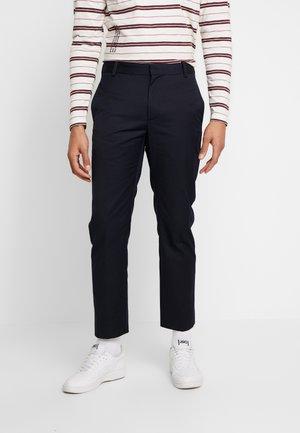 TRISTAN TROUSERS - Spodnie materiałowe - navy