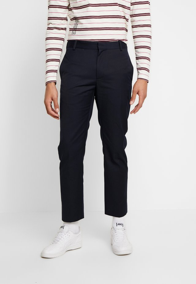 TRISTAN TROUSERS - Stoffhose - navy