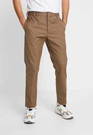 TRISTAN TROUSERS - Stoffhose - taupe