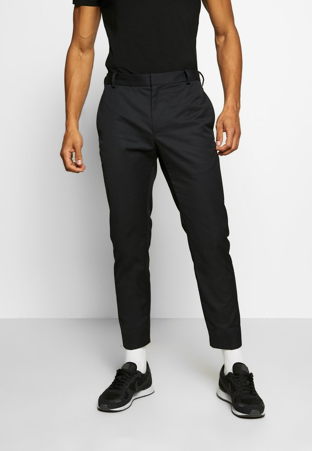TRISTAN TROUSERS - Broek - black