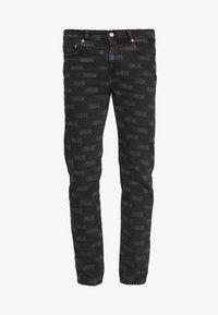 Wood Wood - GIL - Straight leg jeans - black - 4