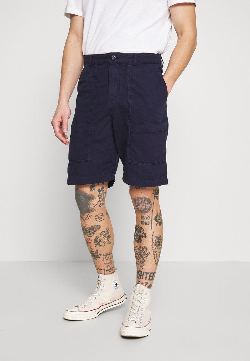 Wood Wood - HARVEY - Shorts - navy
