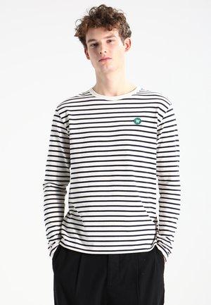 MEL - Langærmede T-shirts - off-white/navy stripes