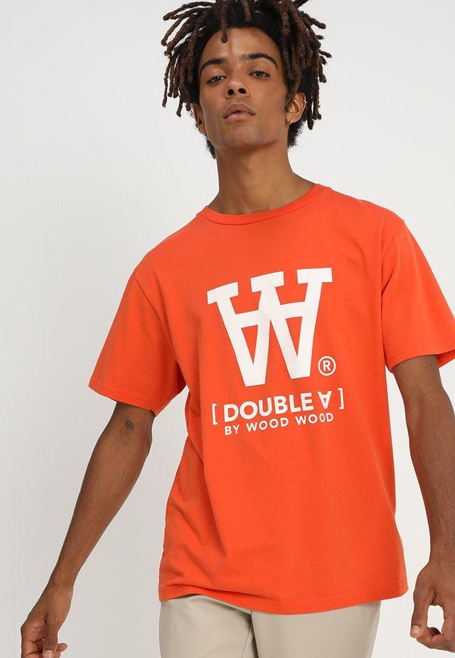 ACE  - Print T-shirt - orange