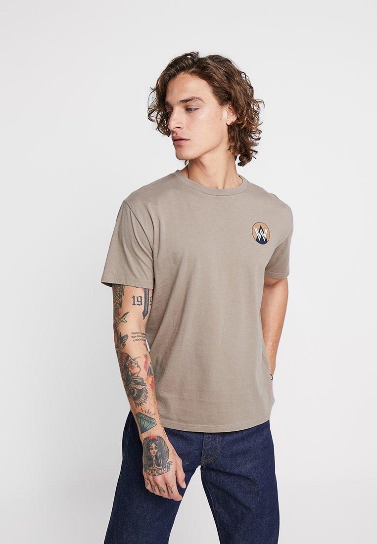 Wood Wood - Print T-shirt - taupe