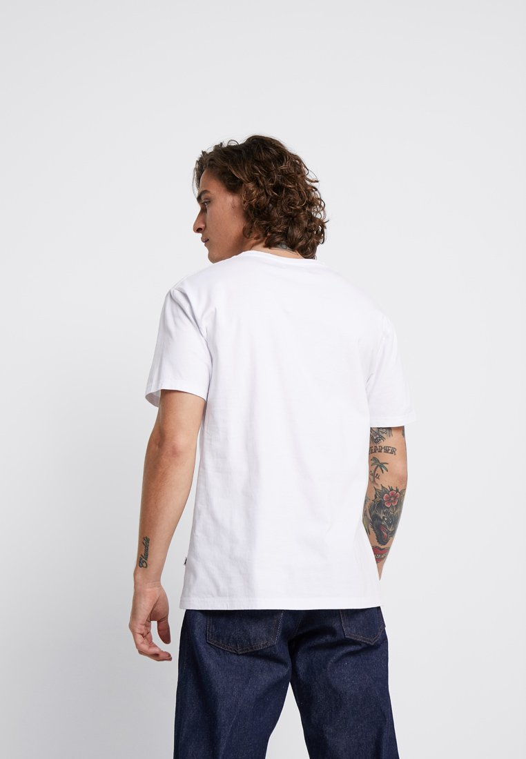 SquareT White shirt Wood Imprimé Bright rCoexBWd