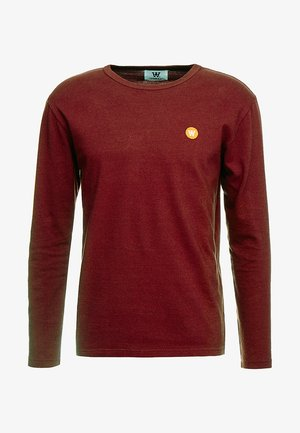 MEL LONG SLEEVE - Langarmshirt - dark red