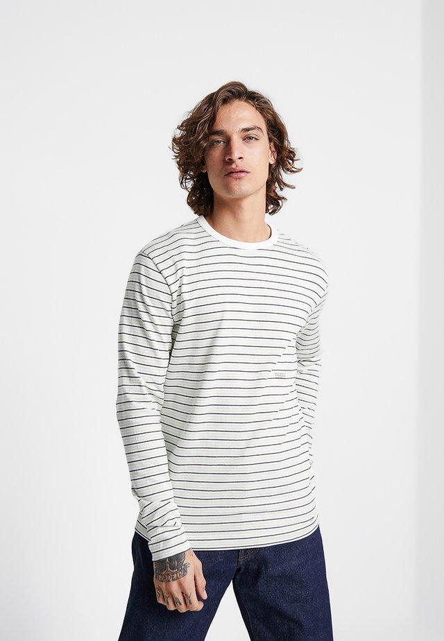 VIGGO LONG SLEEVE - T-shirt à manches longues - off-white