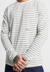 Wood Wood - VIGGO LONG SLEEVE - Camiseta de manga larga - off-white