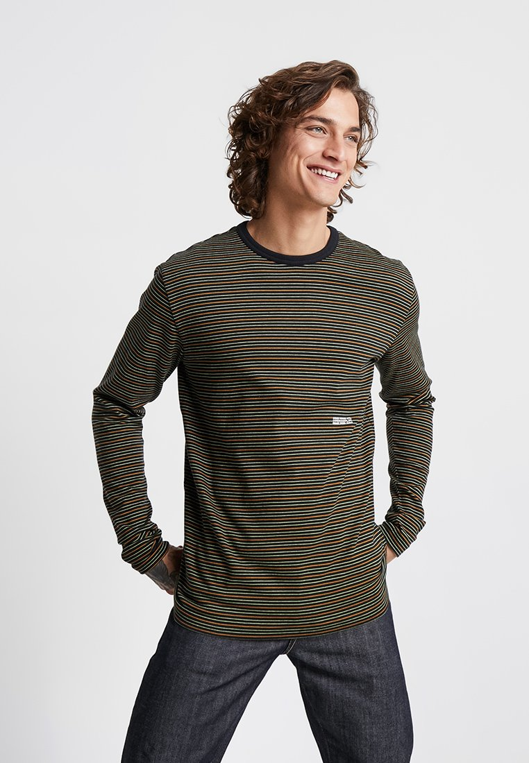 Wood Wood - VIGGO LONG SLEEVE - Top s dlouhým rukávem - black