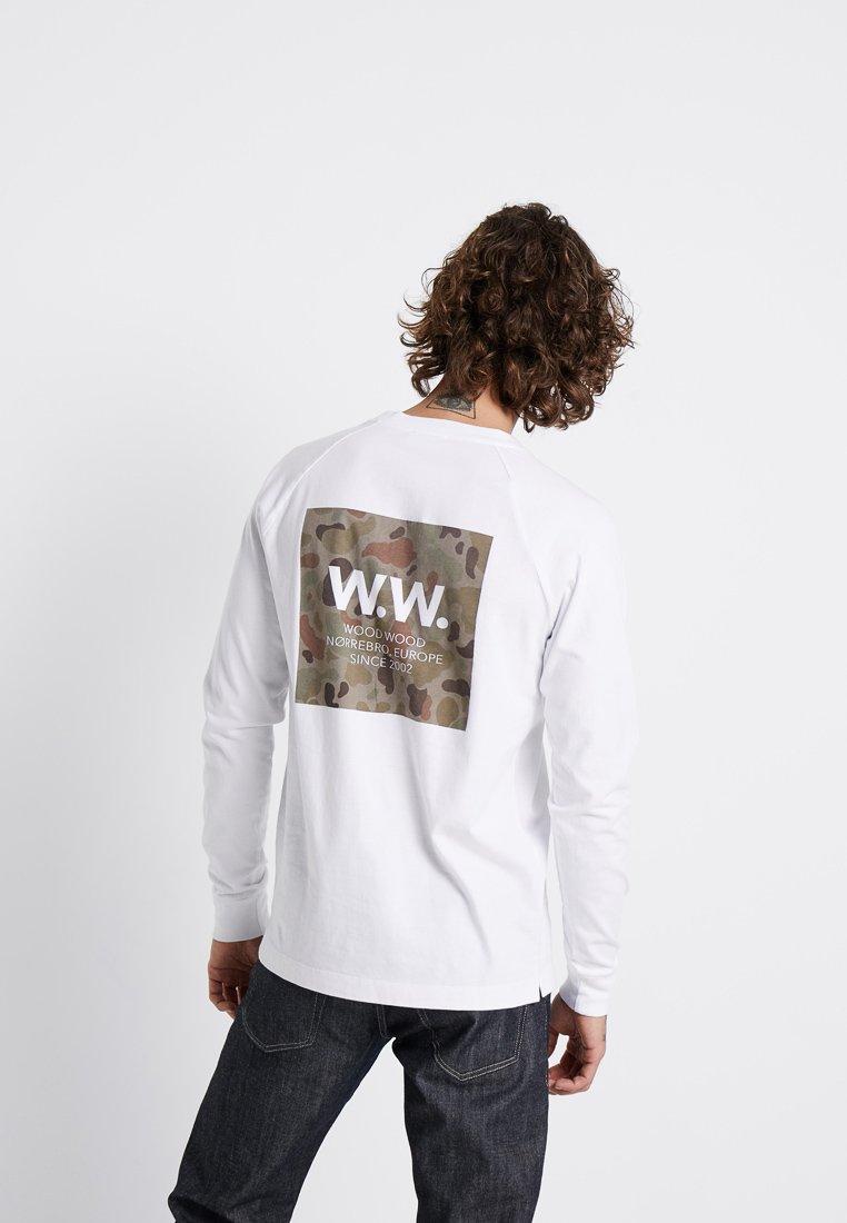 Imprimé Long SleeveT shirt White Wood Han Bright SMzVpUqG