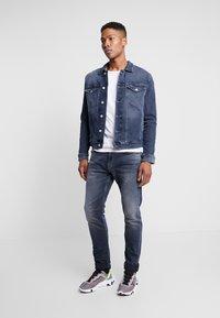 Wood Wood - ACE  - T-shirt basique - light grey melange - 1