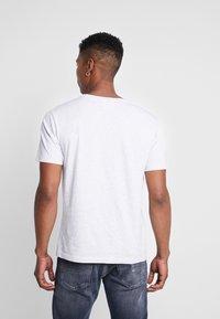 Wood Wood - ACE  - T-shirt basique - light grey melange - 2