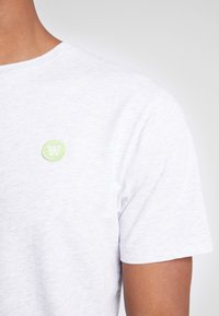 Wood Wood - ACE  - T-shirt basique - light grey melange - 5