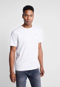 Wood Wood - ACE  - T-shirt basique - light grey melange - 0