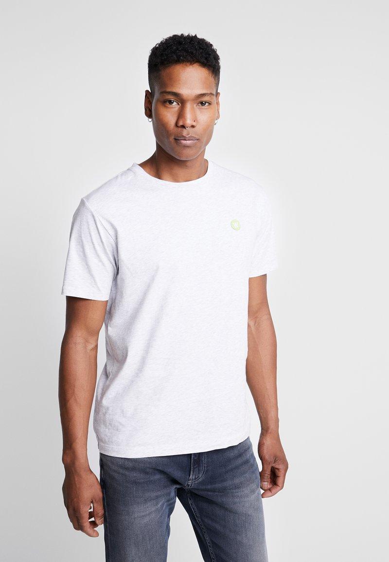 Wood Wood - ACE  - T-shirt basique - light grey melange