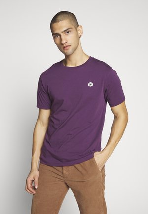ACE  - Basic T-shirt - aubergine