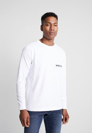 HAN LONG SLEEVE - Long sleeved top - bright white