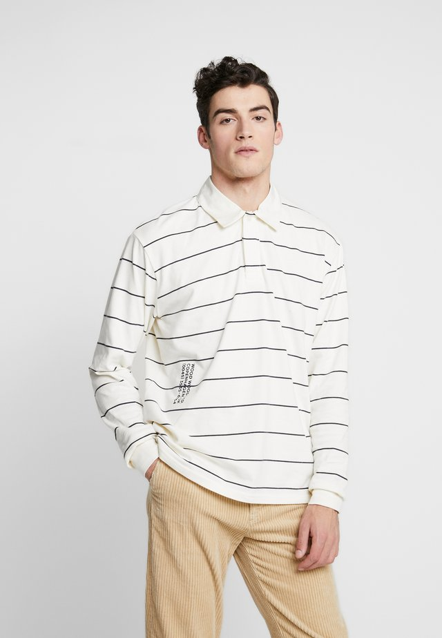 BECK LONG SLEEVE - Long sleeved top - off white