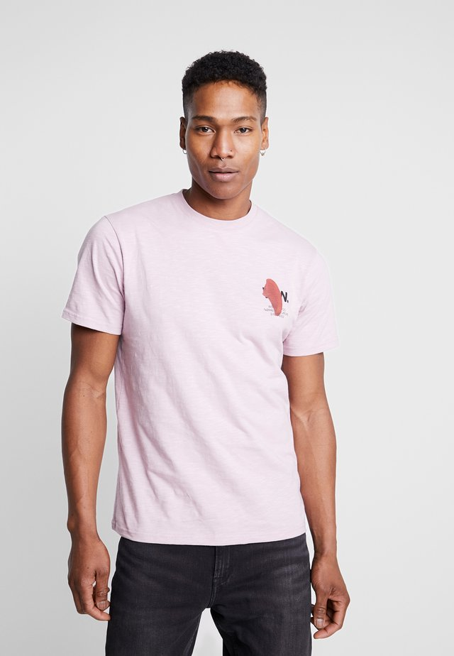 SLATER - T-shirt con stampa - lilac
