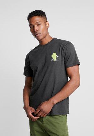 SLATER - Print T-shirt - dark green