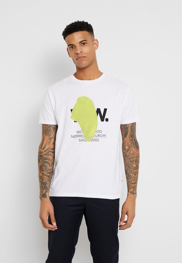 WWBLOB  - T-shirts print - bright white