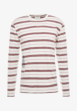 PETER LONG SLEEVE - Long sleeved top - off-white