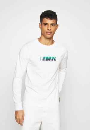 HAN LONG SLEEVE - Long sleeved top - white