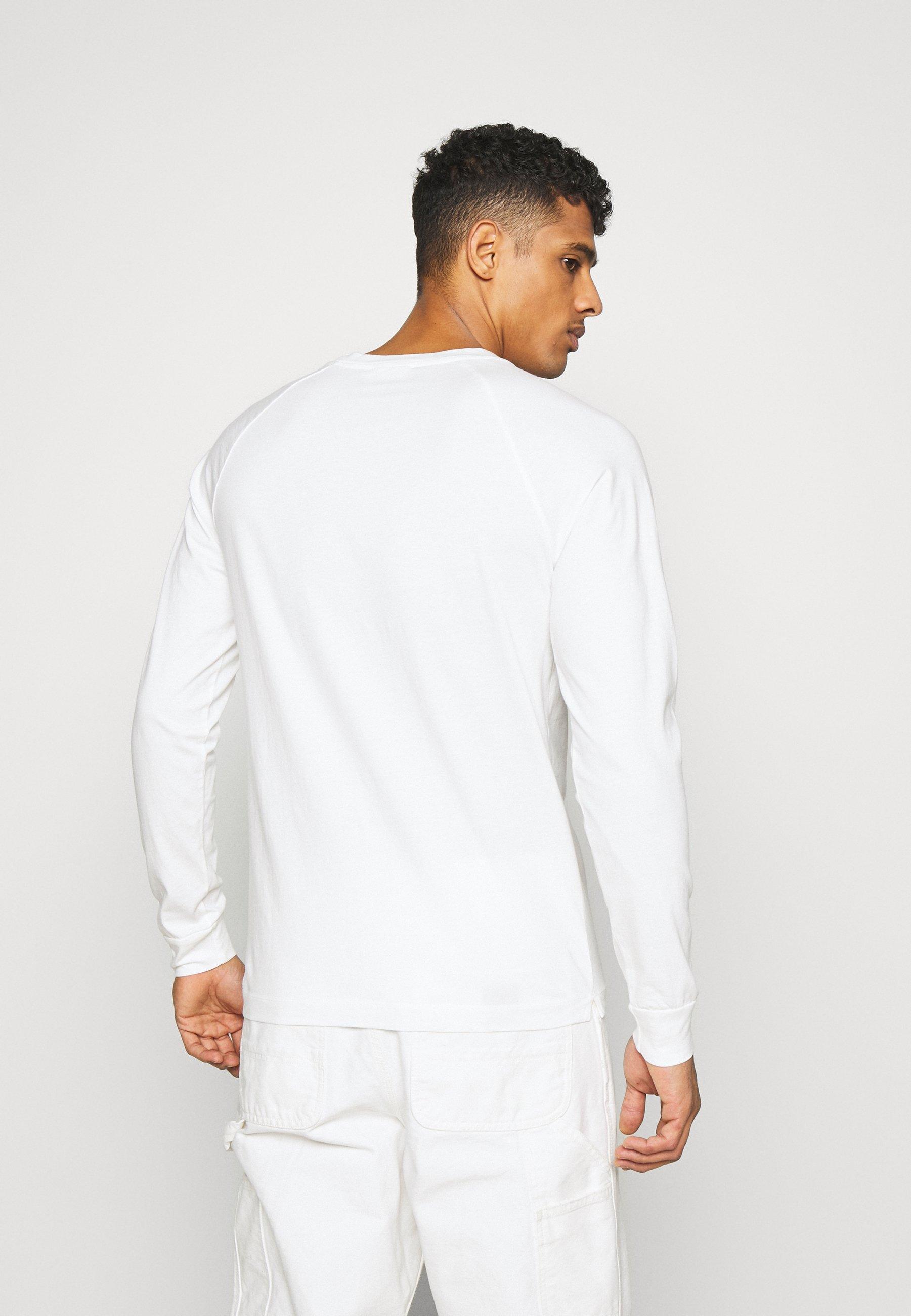 Wood Han Long Sleeve - Långärmad Tröja White