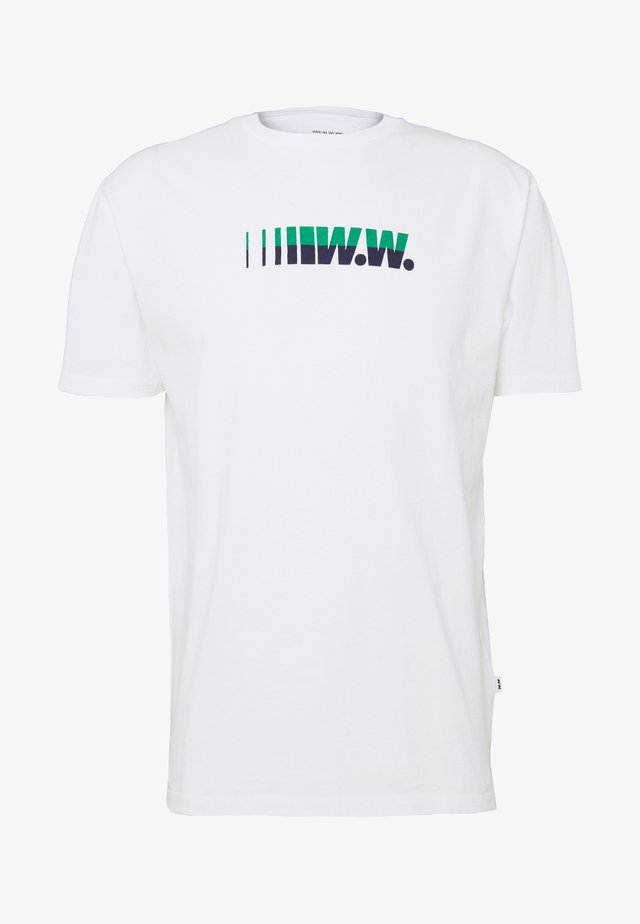 SAMI - Print T-shirt - white
