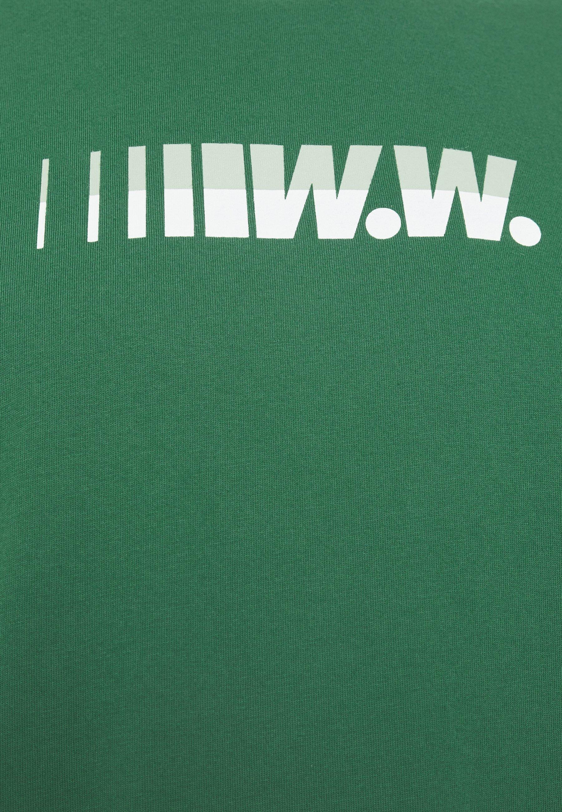 Wood Sami - T-shirt Med Print Green
