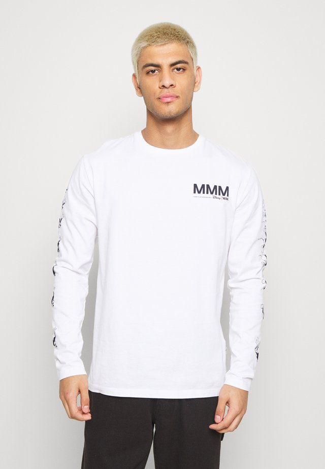 PETER LONG SLEEVE - Langarmshirt - bright white