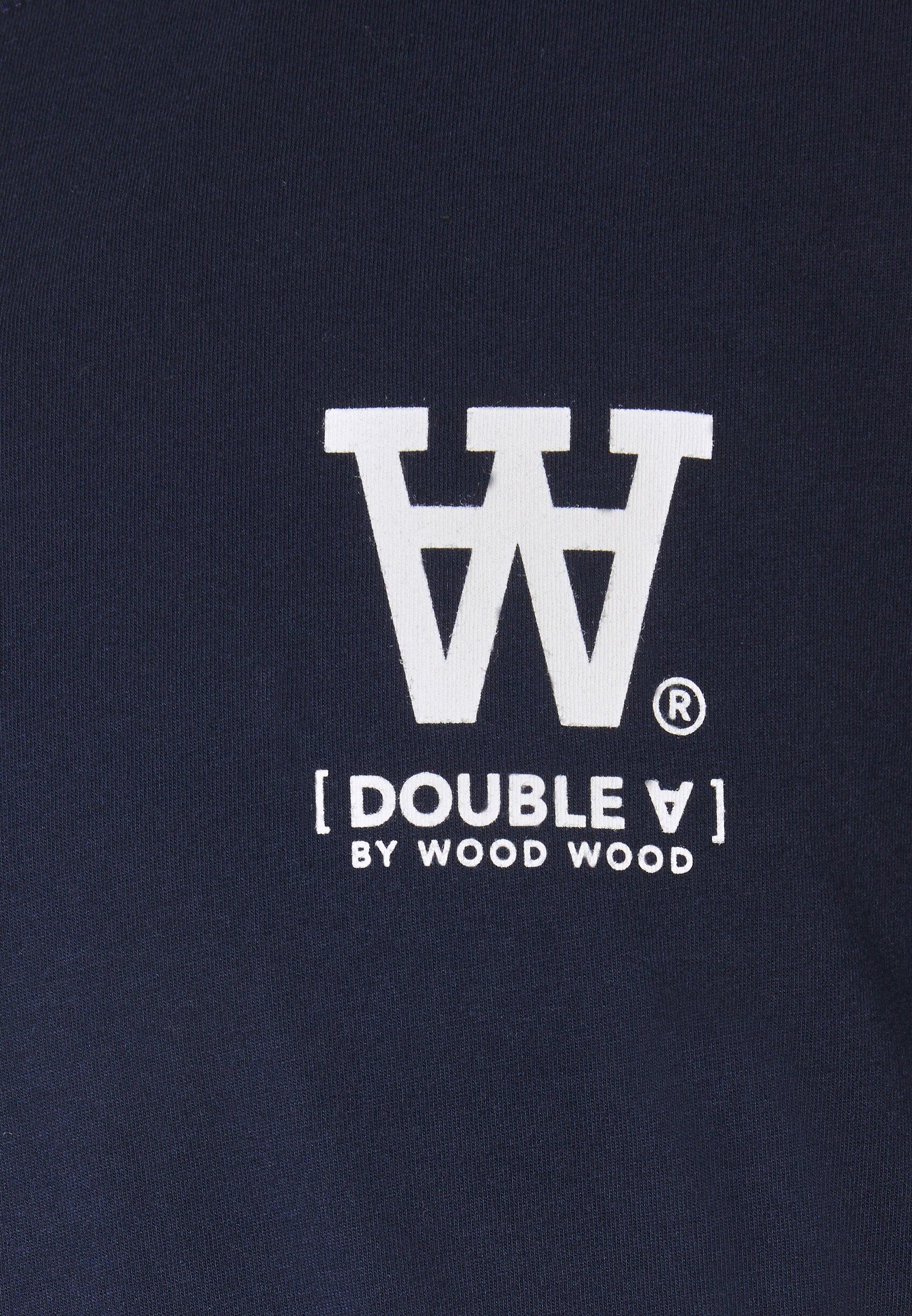 Wood Ace - T-shirts Print Navy